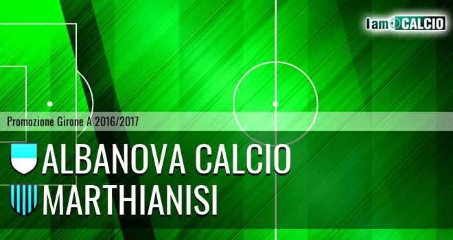 Albanova Calcio - Marthianisi