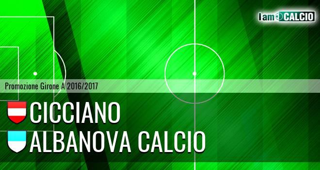 Cicciano - Albanova Calcio