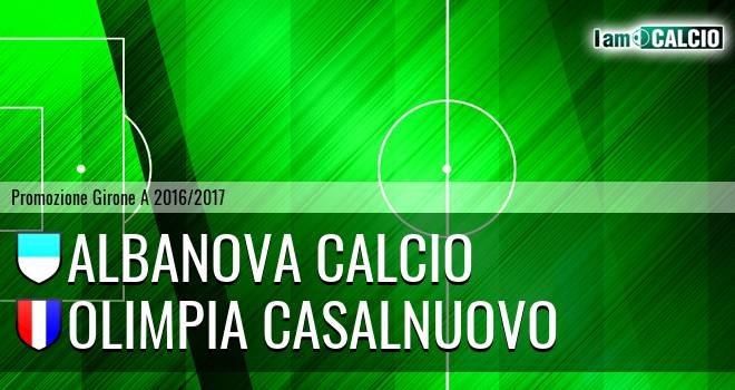 Albanova Calcio - Olimpia Casalnuovo