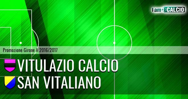 Vitulazio Calcio - San Vitaliano
