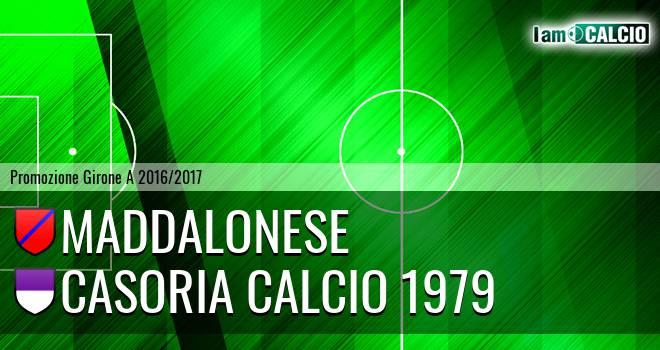 Maddalonese - Casoria Calcio 1979