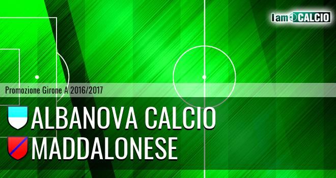 Albanova Calcio - Maddalonese