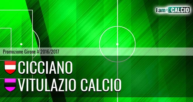 Cicciano - Vitulazio Calcio