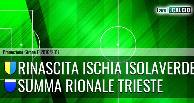 Ischia Calcio - Summa Rionale Trieste