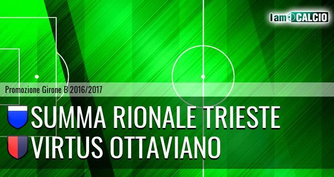 Summa Rionale Trieste - Virtus Ottaviano