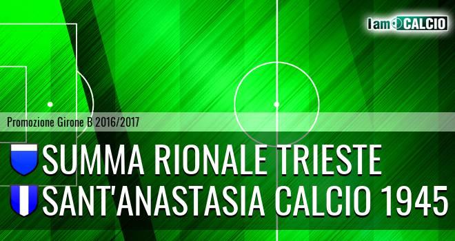 Summa Rionale Trieste - Sant'Anastasia Calcio 1945