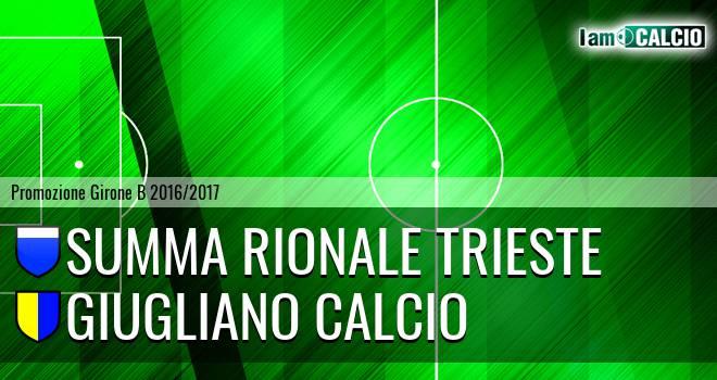 Summa Rionale Trieste - Giugliano Calcio
