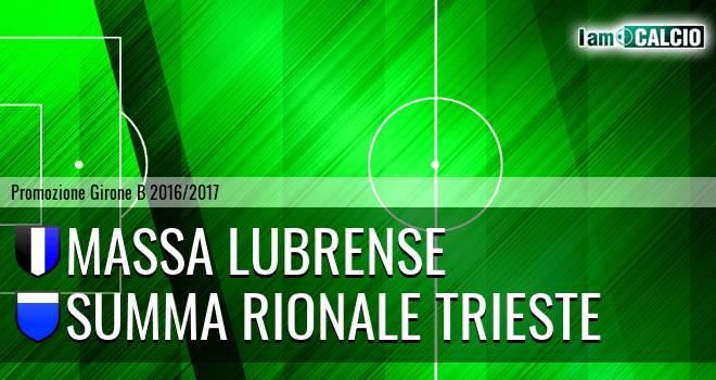 Massa Lubrense - Summa Rionale Trieste