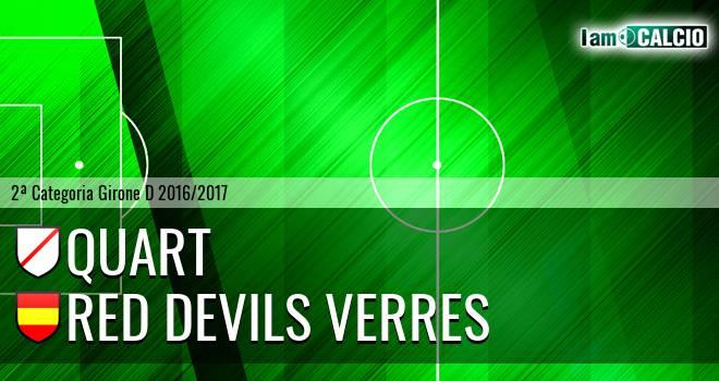 Quart - Red Devils Verres