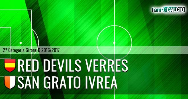 Red Devils Verres - San Grato Ivrea