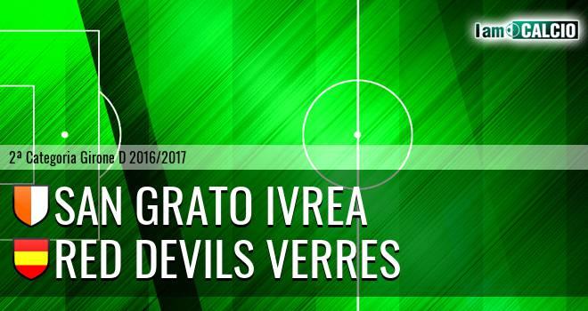 San Grato Ivrea - Red Devils Verres