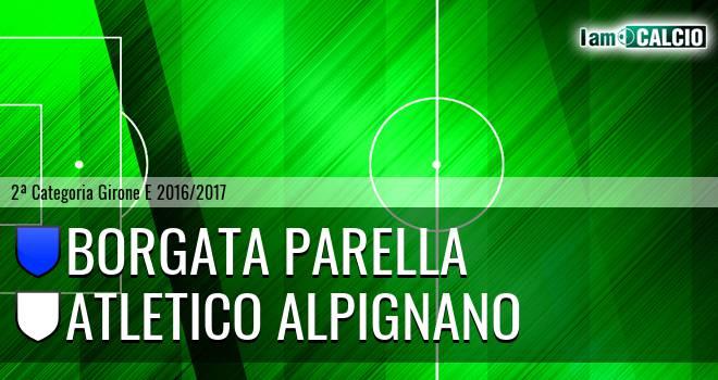 Borgata Parella - Atletico Alpignano