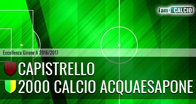 Capistrello - 2000 Calcio Montesilvano