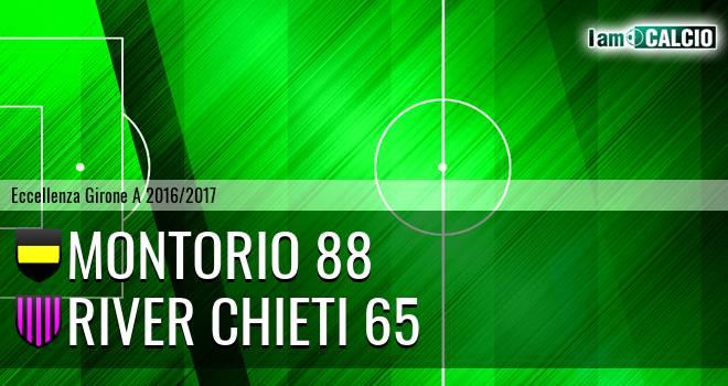 Montorio 88 - River Chieti 65