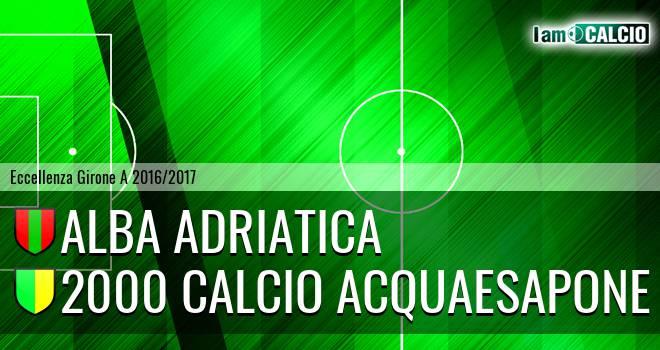 Alba Adriatica - 2000 Calcio Montesilvano