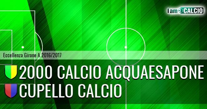 2000 Calcio Montesilvano - Cupello Calcio