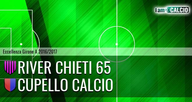 River Chieti 65 - Cupello Calcio