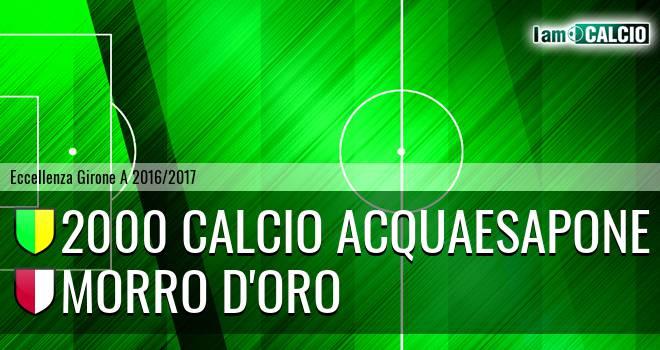 2000 Calcio Montesilvano - Morro D'Oro