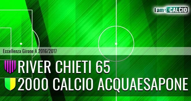 River Chieti 65 - 2000 Calcio Acquaesapone