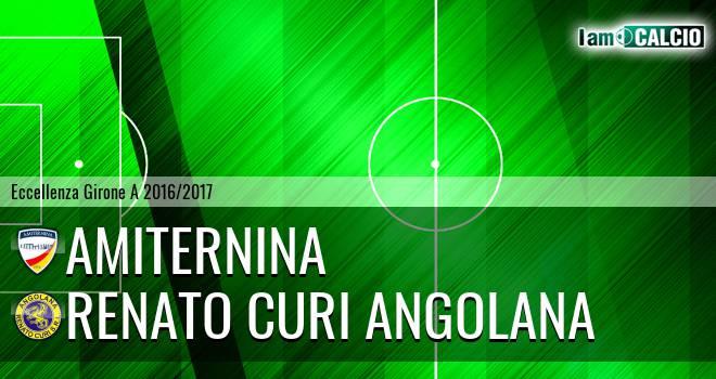Amiternina - Renato Curi Angolana
