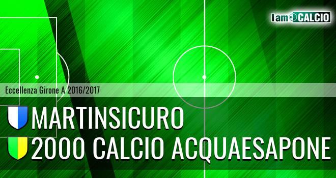 Martinsicuro - 2000 Calcio Montesilvano
