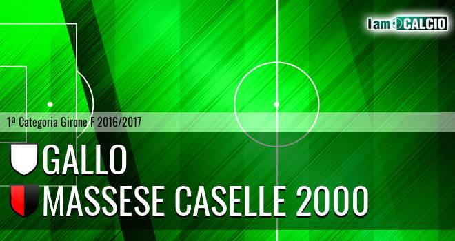 Gallo - Massese Caselle 2000