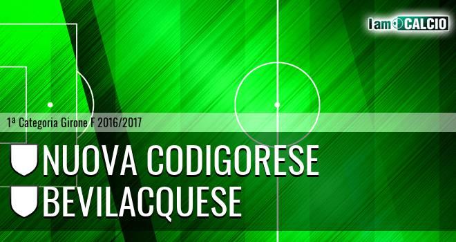 Nuova Codigorese - Bevilacquese