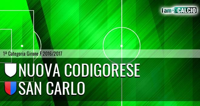 Nuova Codigorese - San Carlo