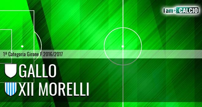 Gallo - XII Morelli