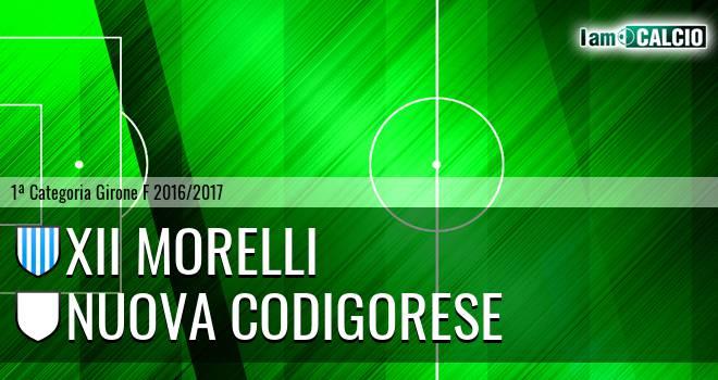 XII Morelli - Nuova Codigorese