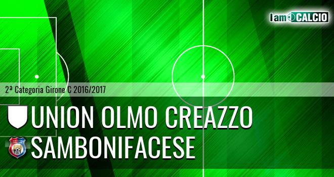 Union Olmo Creazzo - Sambonifacese