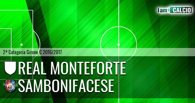 Real Monteforte - Sambonifacese