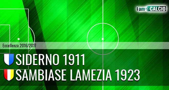Jonica Siderno - Sambiase Lamezia 1923