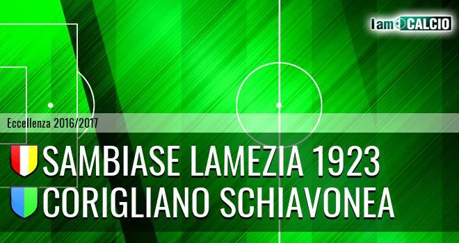 Sambiase Lamezia 1923 - Corigliano