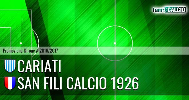 Cariati - San Fili Calcio 1926
