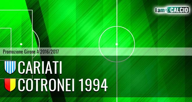Cariati - Cotronei 1994
