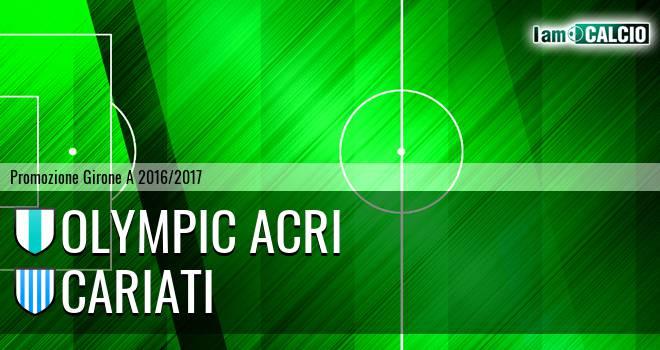 Olympic Acri - Cariati