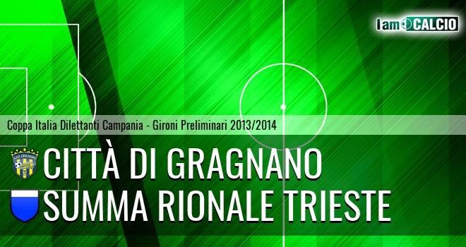 Città di Gragnano - Summa Rionale Trieste