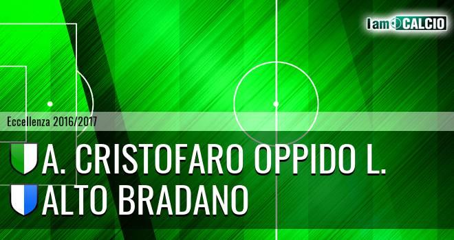 A. Cristofaro Oppido L. - Alto Bradano