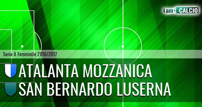 Atalanta Mozzanica - San Bernardo Luserna