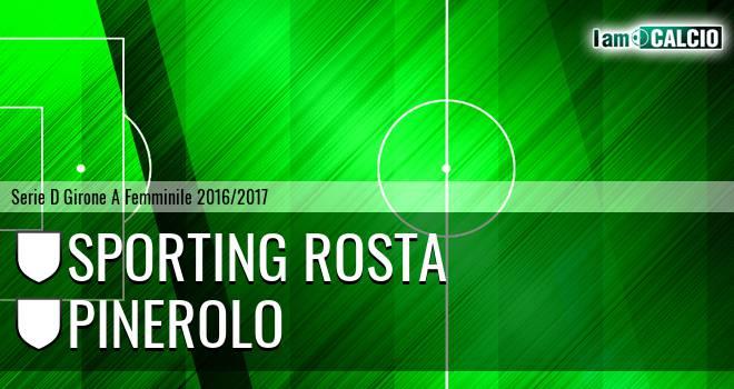 Sporting Rosta - Pinerolo