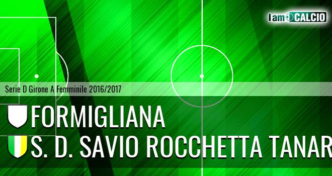 Formigliana - S. D. Savio Rocchetta Tanaro