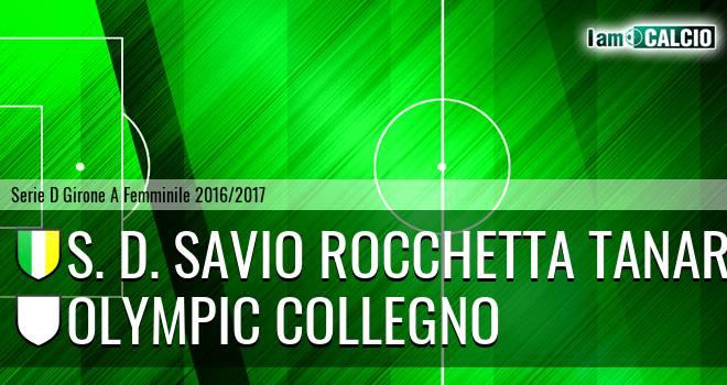 S. D. Savio Rocchetta Tanaro - Olympic Collegno