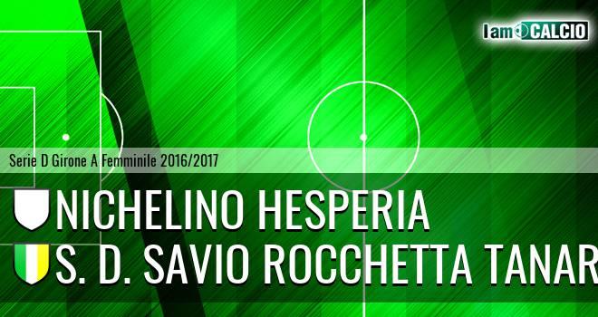 Nichelino Hesperia - S. D. Savio Rocchetta Tanaro