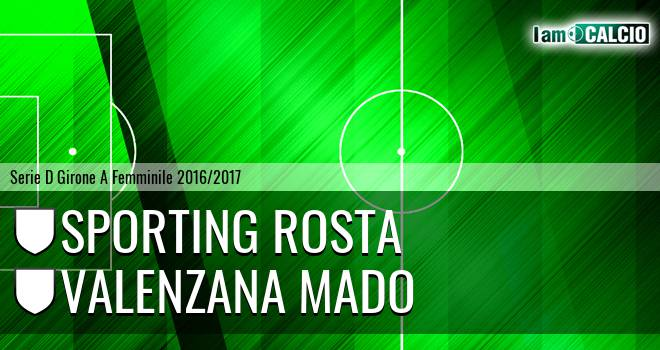 Sporting Rosta - Valenzana Mado