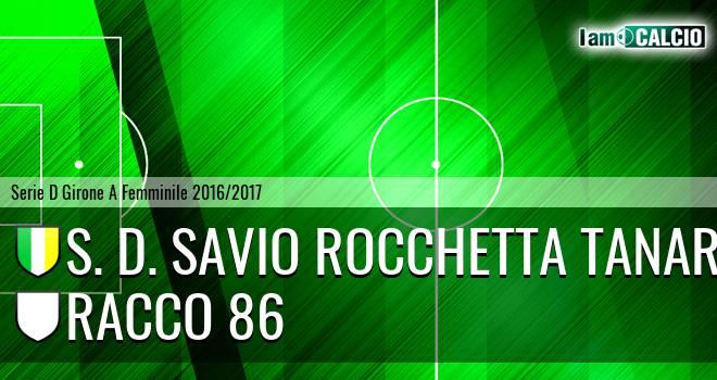 S. D. Savio Rocchetta Tanaro - Racco 86