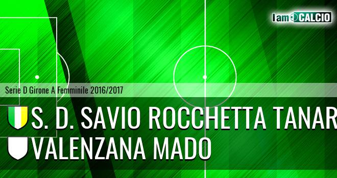 S. D. Savio Rocchetta Tanaro - Valenzana Mado