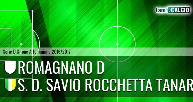 Romagnano D - S. D. Savio Rocchetta Tanaro