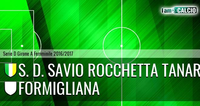 S. D. Savio Rocchetta Tanaro - Formigliana