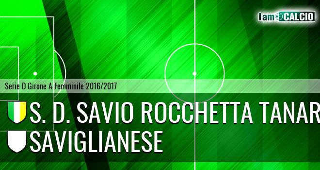 S. D. Savio Rocchetta Tanaro - Saviglianese